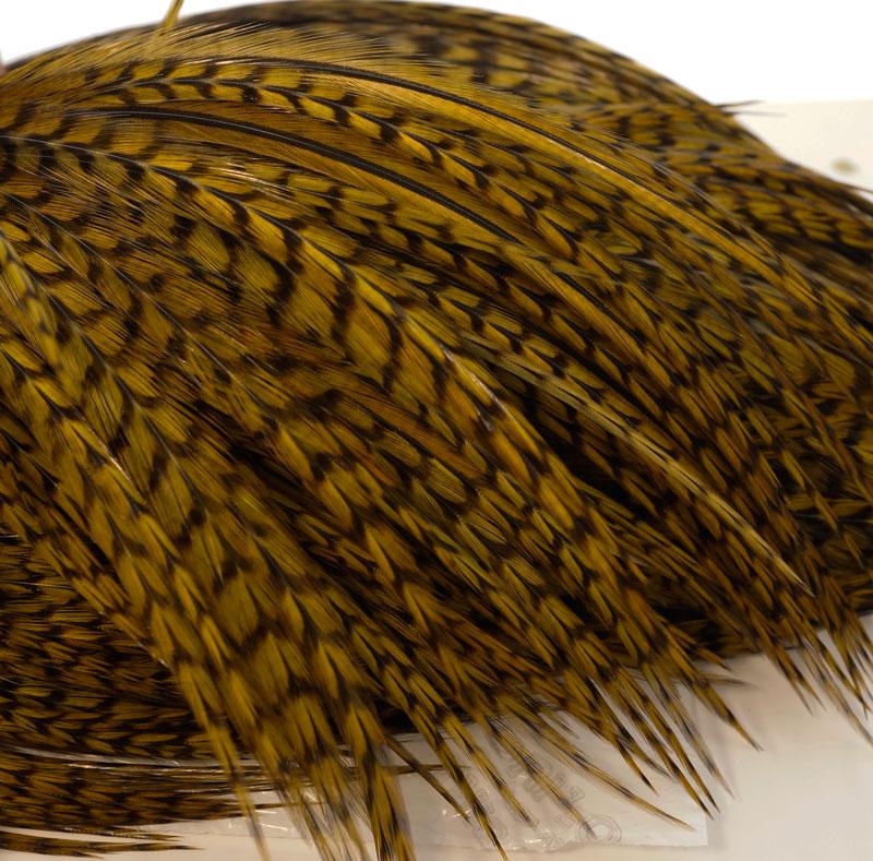Скальп петуха WHITING Dry Fly Cape BRONZE