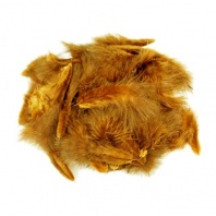 Перья Марабу Hareline Grizzly Marabou Golden Brown