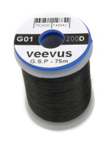 Монтажная нить Veevus G.S.P Thread 200D Black