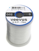 Монтажная нить Veevus G.S.P Thread 200D White