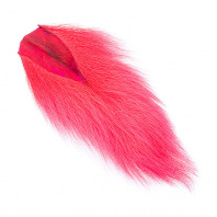 Кусочки хвоста оленя WAPSI Bucktail Medium Fl. Red