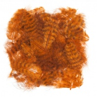 Перья марабу WAPSI Grizzly Marabou Burnt Orange