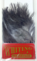 Петушиные перья WHITING Tailing Pack Dark dyed Dun