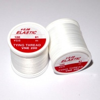 Нить Hends Elastic Thread 200 White