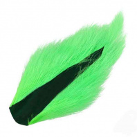 Кусочки хвоста оленя WAPSI Bucktail Medium Fl. Green