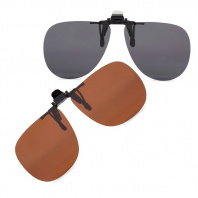 Накладки на очки 8FCO Clip-on flip-up Aviator фото
