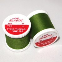 Нить Hends Elastic Thread 205 Olive Green