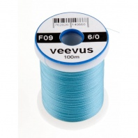Монтажная нить Veevus Thread 6/0 Silver Doctor Blue