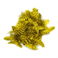 Перья Марабу Hareline Grizzly Marabou Yellow