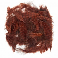 Перья марабу WAPSI Grizzly Marabou Brown