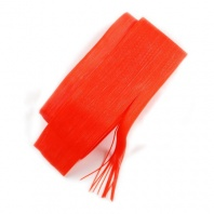 Материал для ножек Hareline Round Rubber Fine Orange