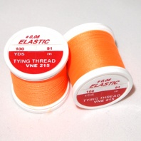 Нить Hends Elastic Thread 215 Fl.Orange