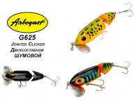 Кроулер Arbogast Jitterbug Jointed Clicker G625 фото