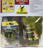 Набор материалов Veniard Beginners Guide to Fly Tying Materials Pack  фото