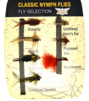 Набор мушек FENWICK Classic Nymph Flycollection фото