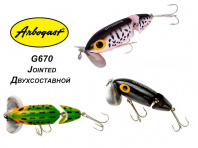 Кроулер Arbogast Jitterbug Jointed G670 фото